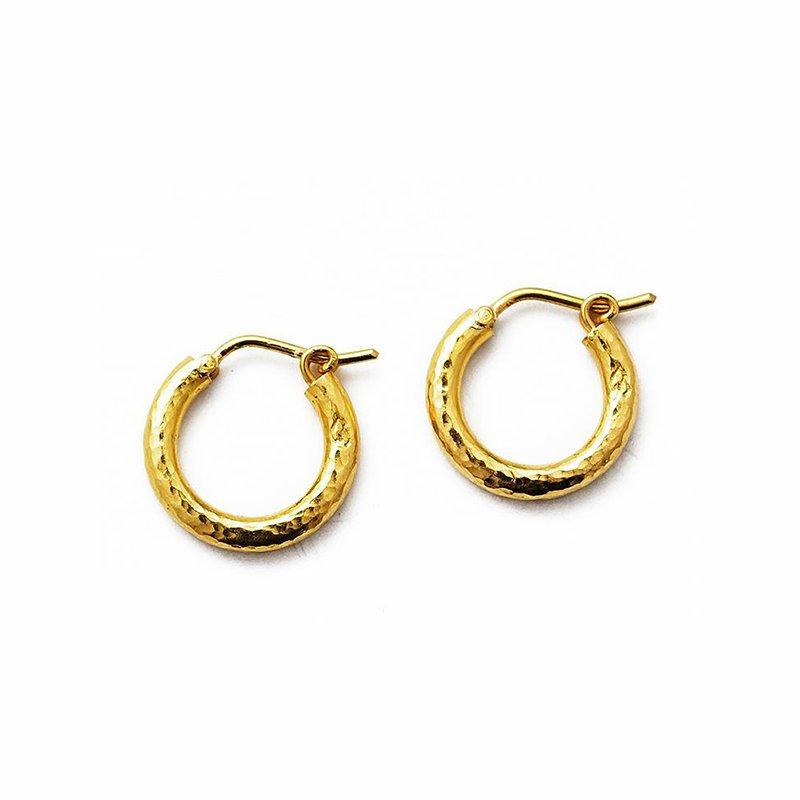 Elizabeth Locke Big Baby Hoop Earrings