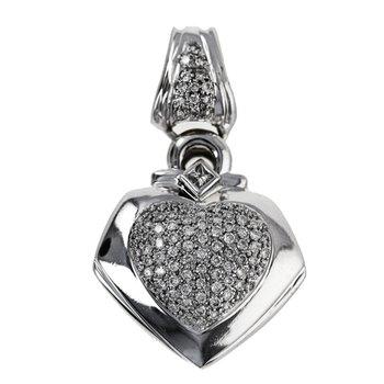 Diamond Heart Enhancer Pendant
