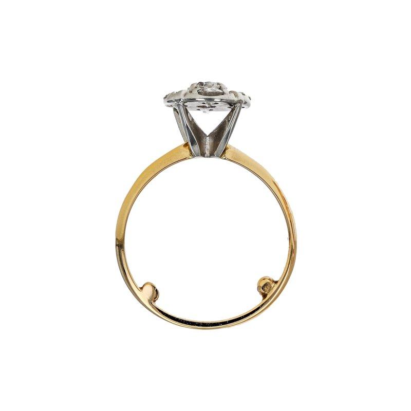 Estate Radcliffe Diamond Cluster Flower Ring