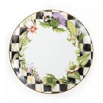 Thistle & Bee Dinner Plate, Garland