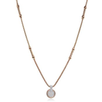 Carnation Chain Expressoins Necklace