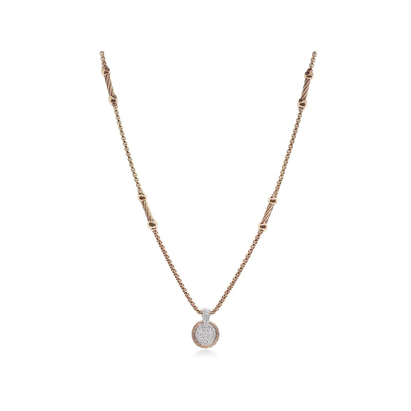 ALOR Carnation Chain Expressoins Necklace