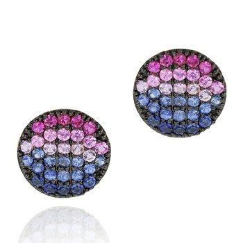 Dusk Mini Infinity Earrings