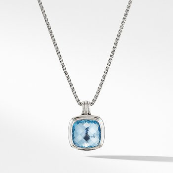 Albion Pendant with Blue Topaz
