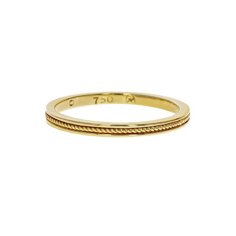 Estate Hidalgo Rope Band Ring