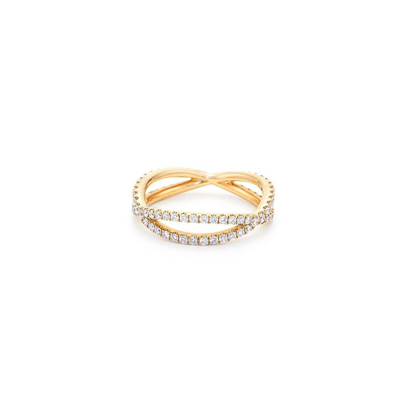 Kwiat Fidelity Ring with Pave Diamonds