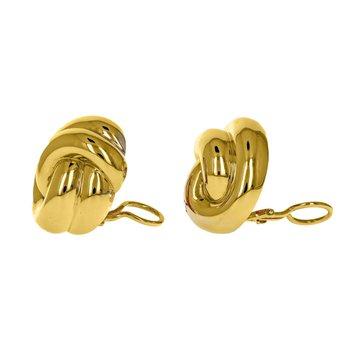 Interlocking Knot Earrings
