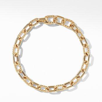DY Madison Bold Bracelet in 18K Gold, 6mm
