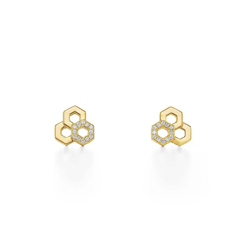 Temple St. Clair Honeycomb Earrings