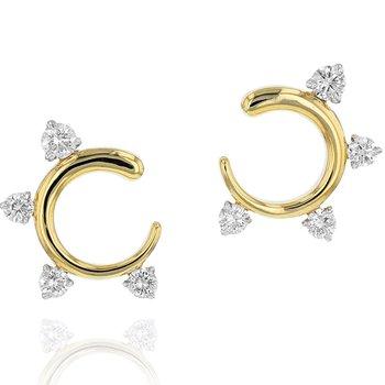 Enchanted Fan Earrings