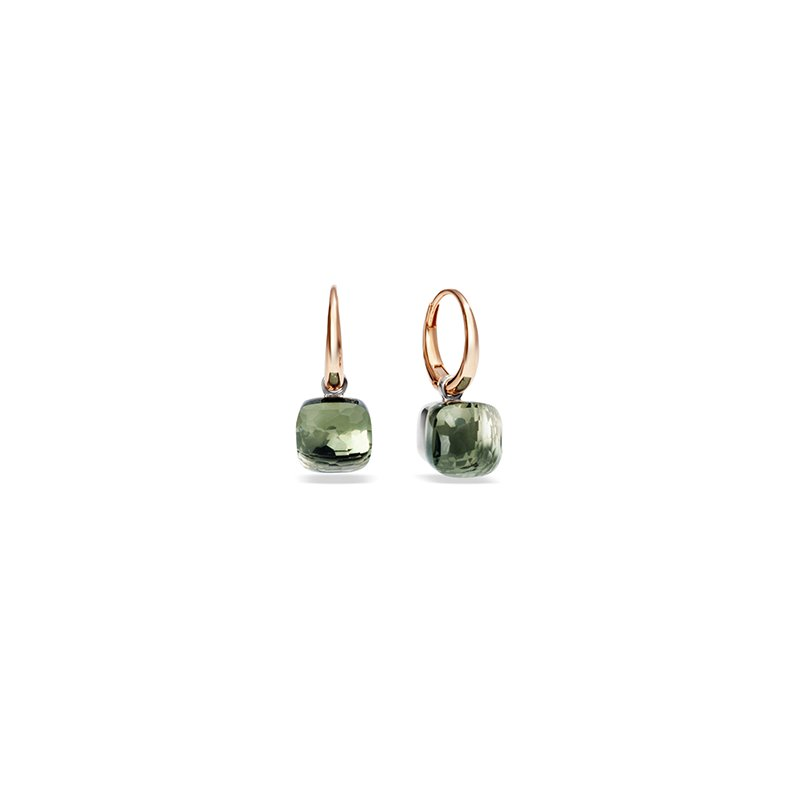 Pomellato Nudo Petite Earrings in Prasiolite
