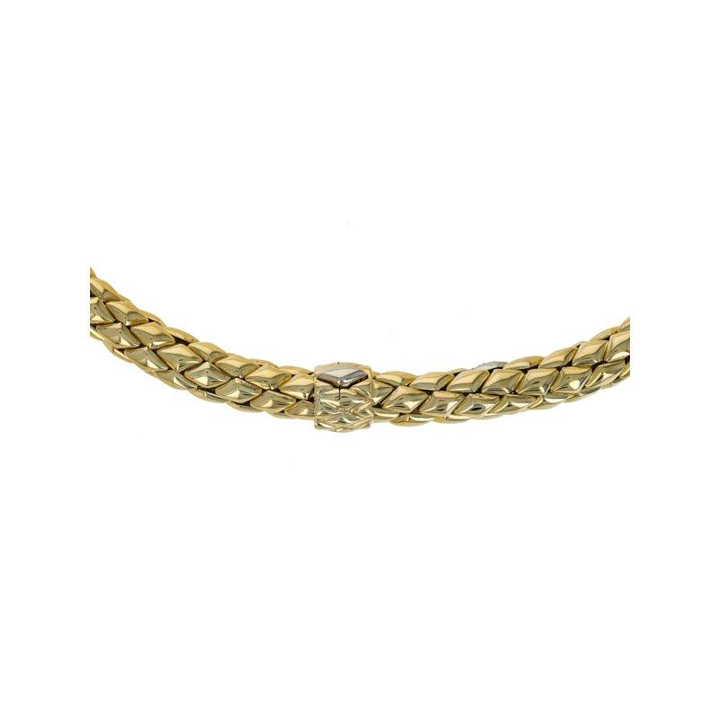 Estate Chimento Woven Mesh Necklace