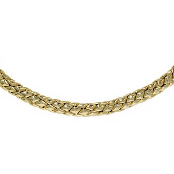 Woven Mesh Necklace