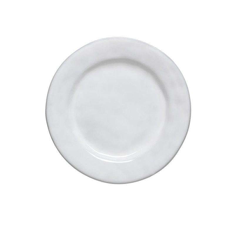 Juliska Quotidien White Truffle Dessert/Salad Plate
