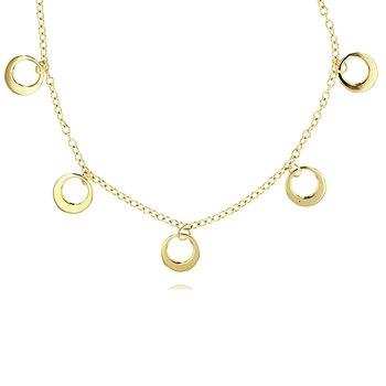 Station Crescent Necklace