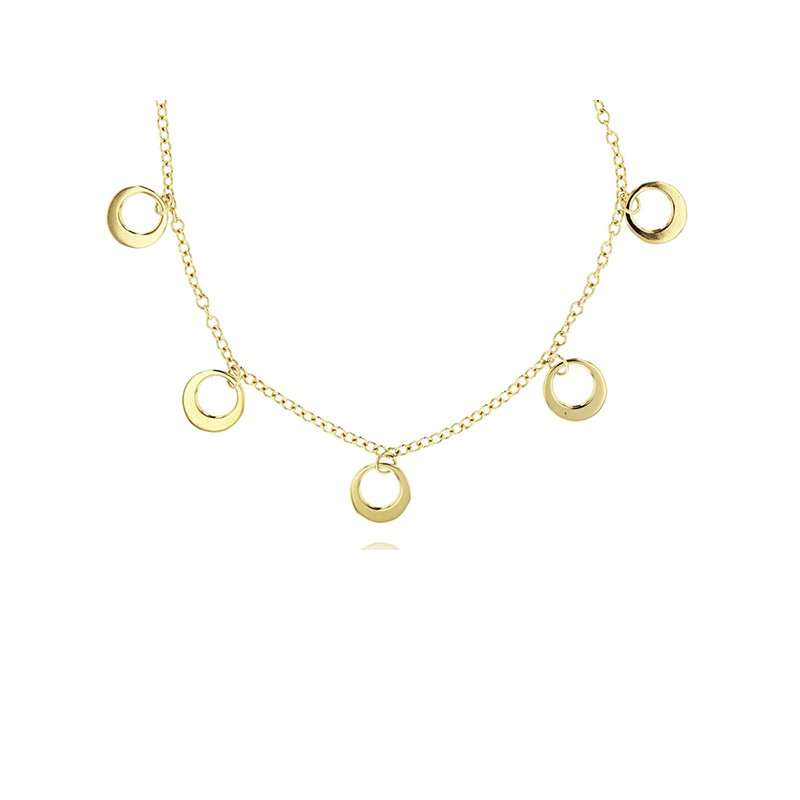 Phillips House Station Crescent Necklace