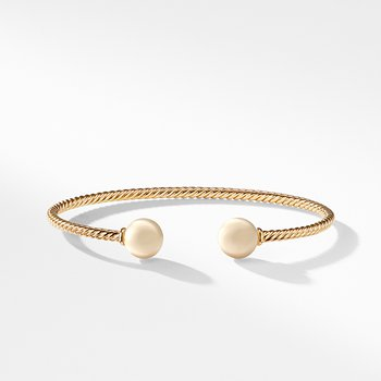 Bead Bracelet in 18K Gold