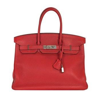 35cm Rouge Birkin Bag