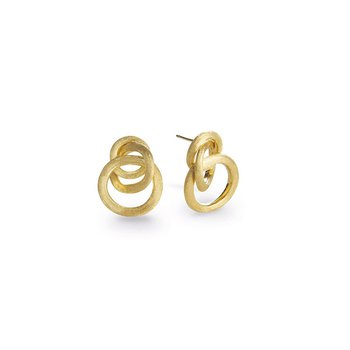 Jaipur Collection 18K Yellow Gold Small Knot Earrings