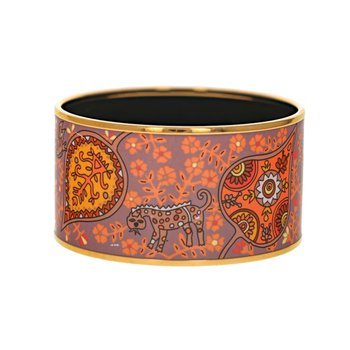 Extra Wide Paisley Bangle