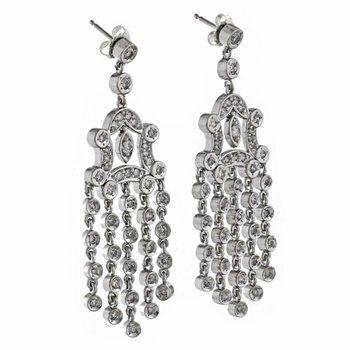 Chandelier Daimond Earrings