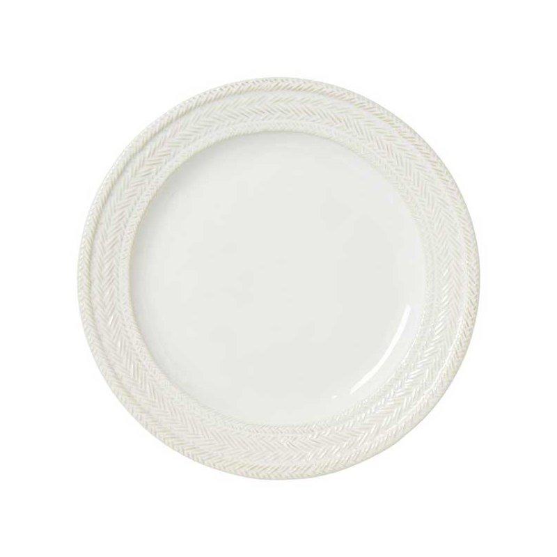 Juliska Le Panier Whitewash Dinner Plate