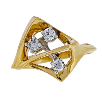 Diamond & Gold Ring