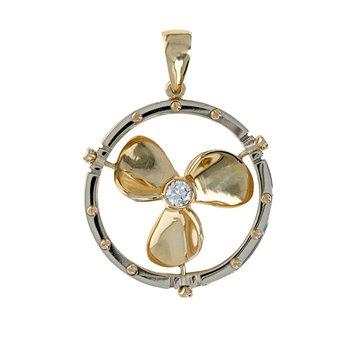 Diamond Propeller Pendant
