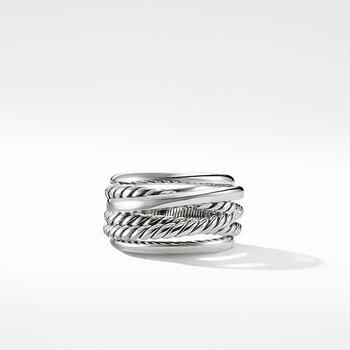 Crossover Narrow Ring