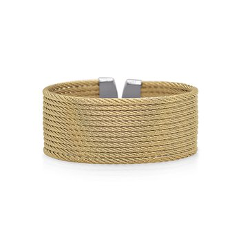 Yellow Cable 12-Row Cuff
