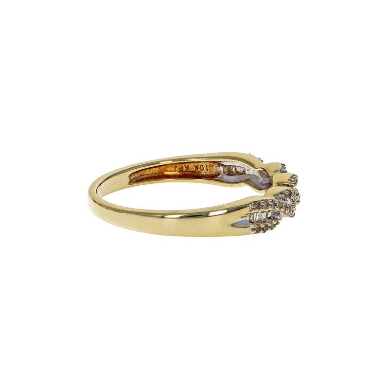 Estate Radcliffe Twisted Diamond Ring
