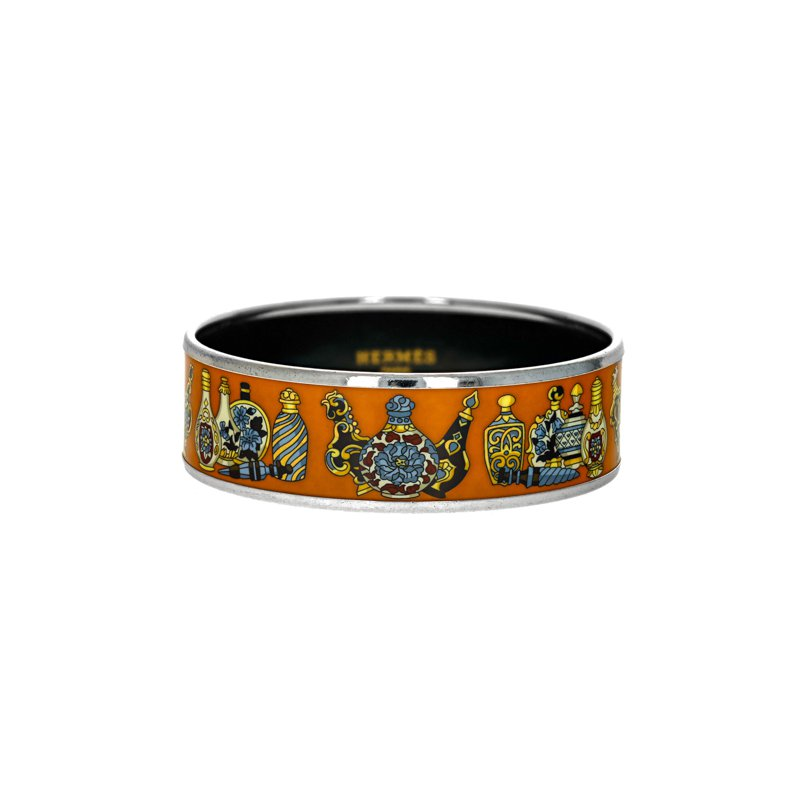 Hermes Wide Flacons Bangle