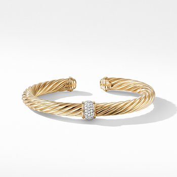 Bracelet with Diamonds in Gold