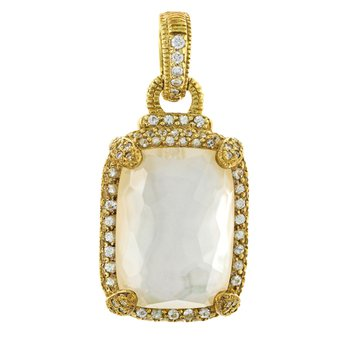 Mother of Pearl Doublet Pendant