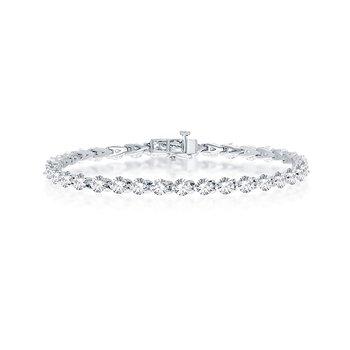 7 CTW Diamond Tennis Bracelet
