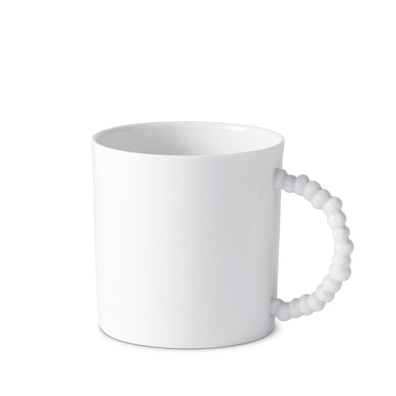 L' Objet Haas Mojave White Mug