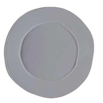 Lastra Gray Round Platter