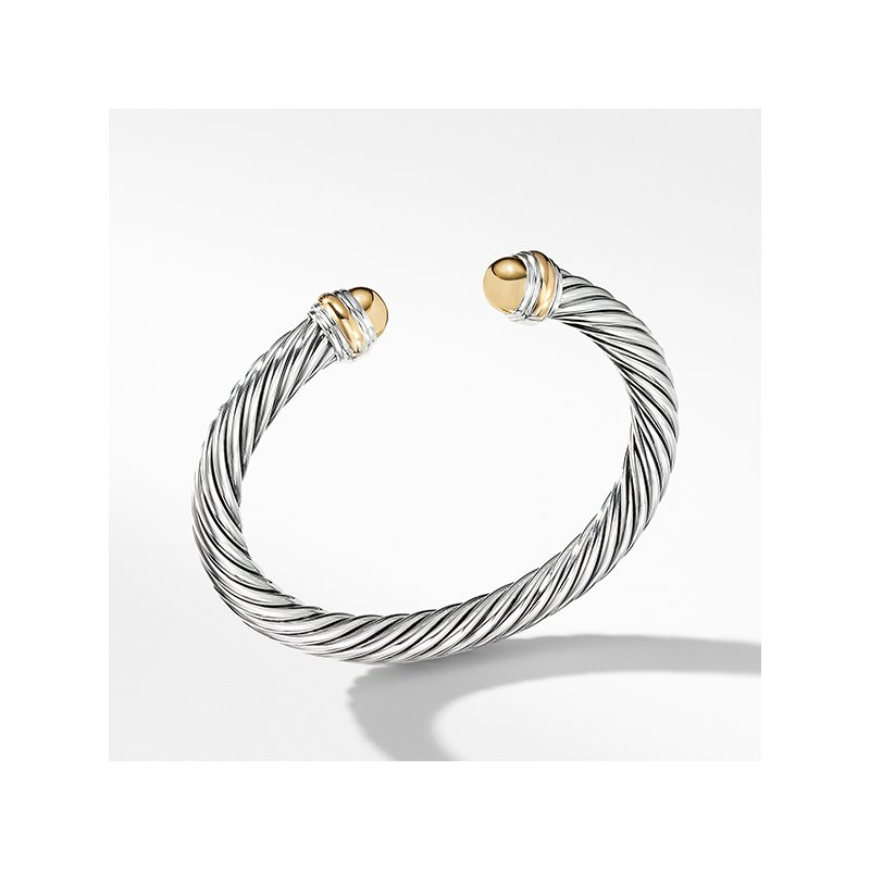 David Yurman Cable Classic Bracelet with 14K Gold