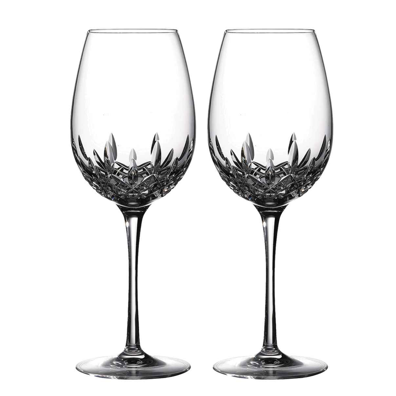 Waterford Lismore Essence Red Wine Goblet, Pair