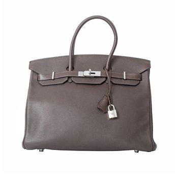 35cm Brown Birkin Bag