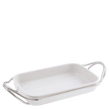 Living Holder with Rectangular Dish