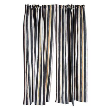 Courtly Stripe Curtain Panel