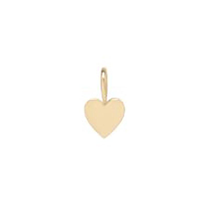 Zoe Chicco Heart Charm Pendant