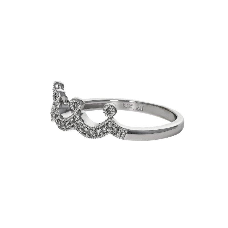Estate Radcliffe Diamond Crown Ring
