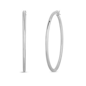 45mm Thin Hoop Earrings