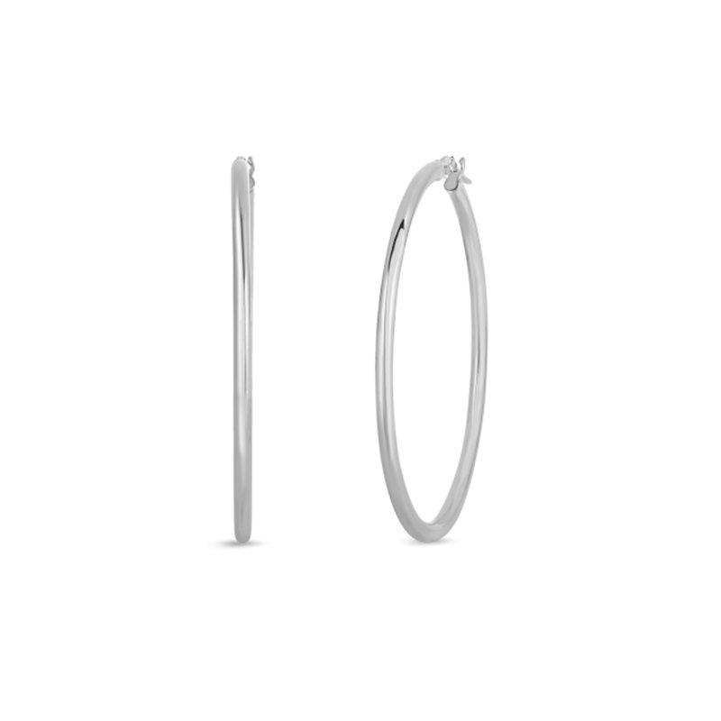 Roberto Coin 45mm Thin Hoop Earrings