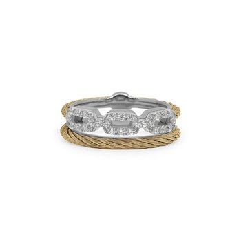 Layered Links Ring