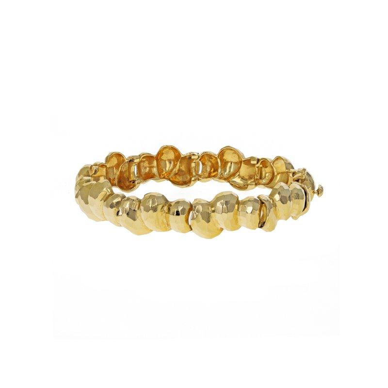 Estate Radcliffe Faceted Golden Nugget Bracelet