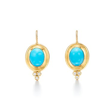 Classic Temple Earrings