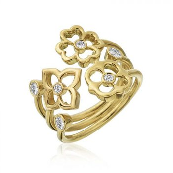 G Boutique Trio Diamond Ring